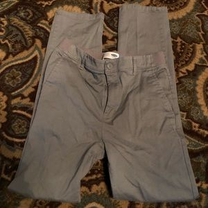 Old Navy gray boys pants dress or casual
